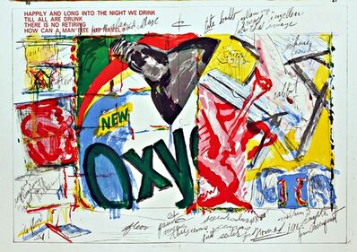 James Rosenquist, 'OXY  (from 1 Cent Life Portfolio)', 1964