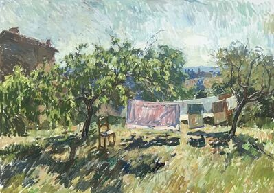 Ben Fenske, 'Apricots and Laundry', 2019