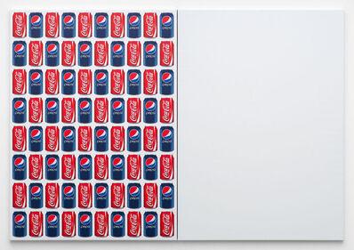 Jonathan Horowitz, 'Coke/Pepsi (80 Cans)', 2014