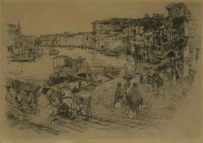 Frank Duveneck, 'Rialto, Venice', 1883