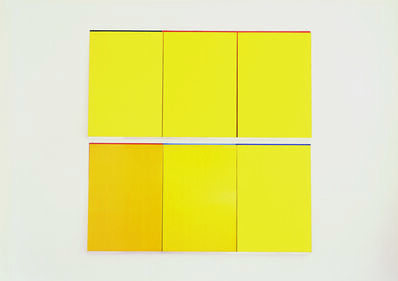 Imi Knoebel, 'Gelb Gelb 1', 2006