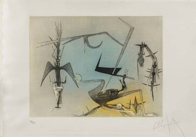 Wifredo Lam, 'Visibile Invisibile', 1972
