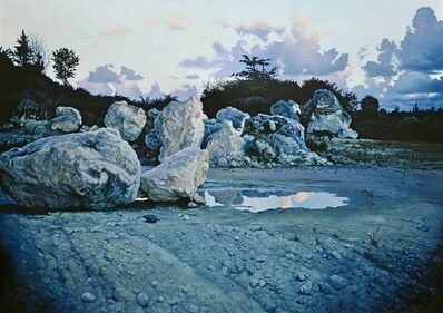 Ian Hornak, 'Mythical Landscape ', July 1974