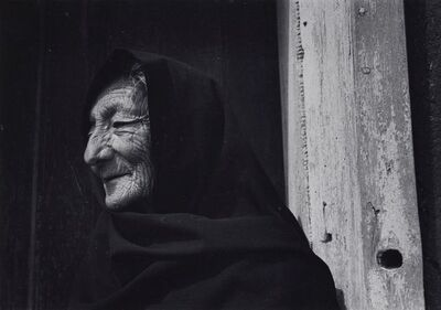 Ansel Adams, 'Spanish-American Woman near Chimayo, New Mexico', 1937