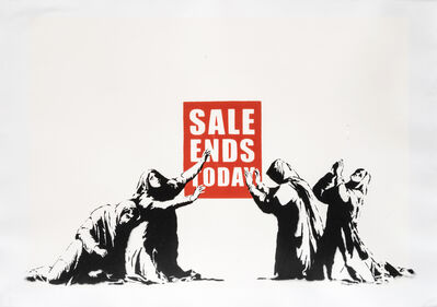 Banksy, 'Sale Ends Today', 2006