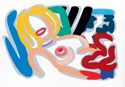 Tom Wesselmann, 'Big Blonde with Choker', 1992