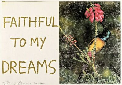 Tracey Emin, 'Faithful to My Dreams', 2012