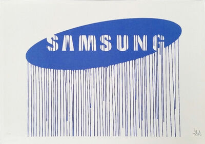 Zevs, 'Liquidated Samsung (from Liquidated London set)', 2012
