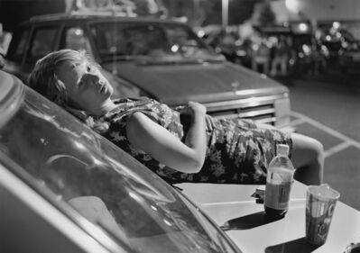 Mark Steinmetz, 'Athens, GA (Girl on Hood of Car)', 1996