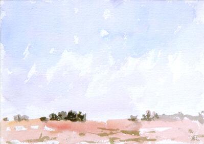 Eugene Leake, 'Winter Farm - Snow', 1997