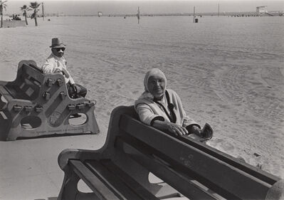 Ed Sievers, 'Untitled (people on benches), Venice, CA', c. 1970's