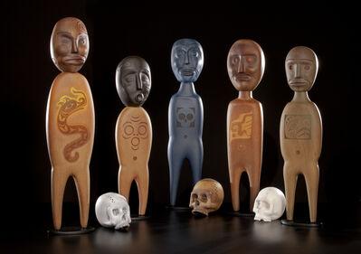 Preston Singletary, 'Shrine Figure Set', 2016