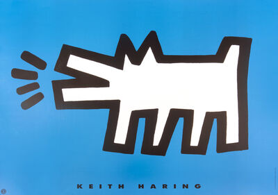 Keith Haring, 'Barking Dog', 1994