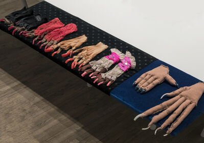 Narcissister, 'Performance Gloves', 2009-2016