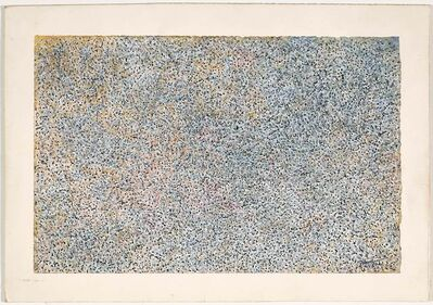 Mark Tobey, 'Multi-Movements in Time', 1958