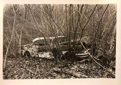 Nona Hatay, 'Vintage Silver Gelatin Old Car Wreck Photographer Nona Hatay', 20th Century