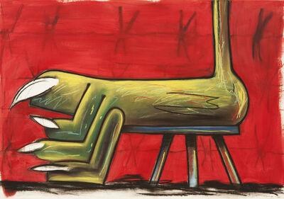 Gorka Mohamed, 'Sick Feet Taburete', 2015