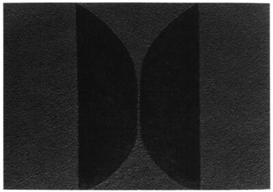 Alberto Burri, 'Mixoblack 10', 1990