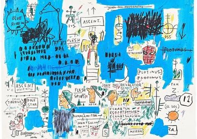 Jean-Michel Basquiat, 'Ascent', 2017