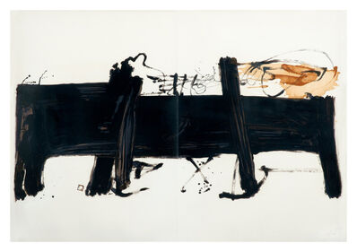 Antoni Tàpies, 'La Grande Table', 1982