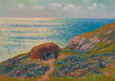 Henry Moret, 'Ramasseuses De Goémon À Moelan, Bretagne', 1900