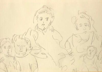 Maggie Laubser, 'Fgure studies', 1940-1950