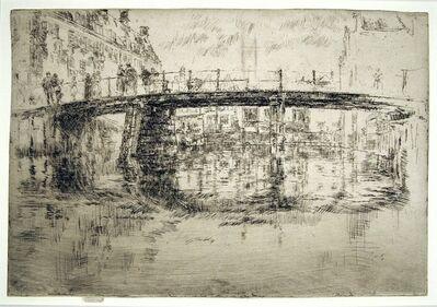 James Abbott McNeill Whistler, 'The Bridge, Amsterdam - First State', 1889