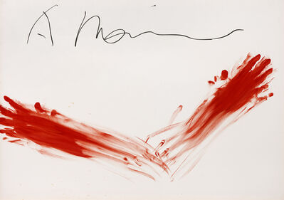 Arnulf Rainer, 'Untitled (Fingermalerei)', 1973