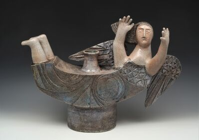 Jean Derval, 'Sculpture Vase', 2001