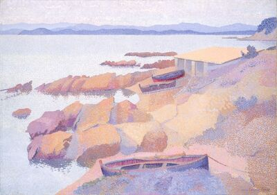 Henri-Edmond Cross, 'Coast near Antibes', 1891/1892