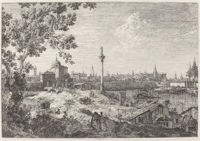 Canaletto, 'Imaginary View of Padua', ca. 1735/1746
