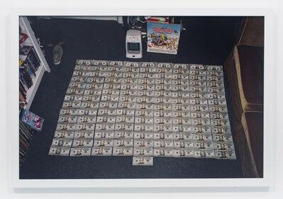 Andrew Jeffrey Wright, 'Money on floor in front of space heater', 2008