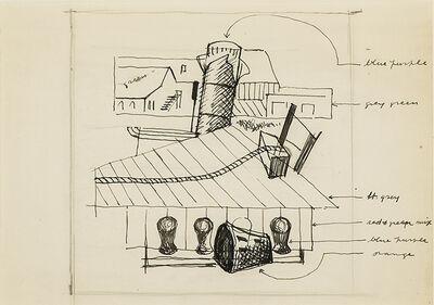 "Stuart Davis, 'Study for ""Waterfront""', 1933"