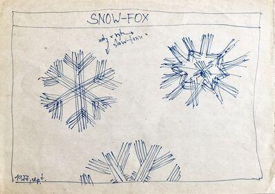 Milan Adamčiak, 'Snow Fox', 1977