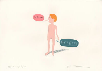 Oliver Jeffers, 'Carbon/Methane', 2009