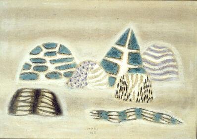 Zoran Antonio Mušič, 'Paesaggio Senese', 1955