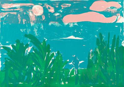 Romare Bearden, 'Caribbean Landscape', 1983-85