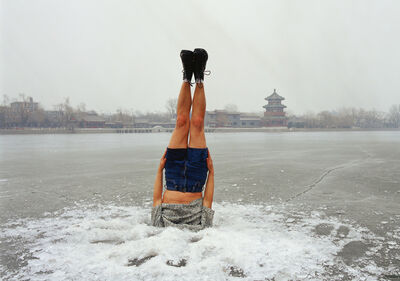 Li Wei 李日韦, 'Li Wei falls to the Ice hole 044-01', 2004