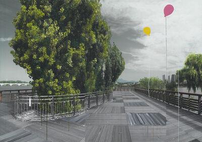 Honggoo Kang, 'Study of Green-Seoul-Vacant Lot-Seonyudo (Islet)', 2019