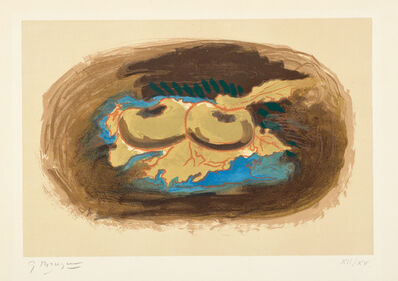 Georges Braque, 'Pommes et feuilles (Apples and Leaves)', 1958