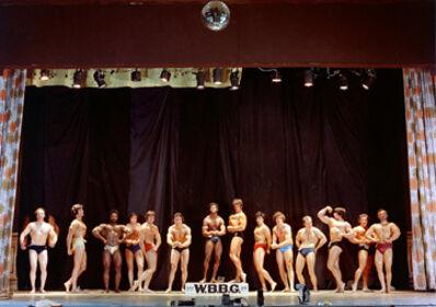 Neal Slavin, 'Contestants; World Body Building Guild, Brooklyn, NY', 1974