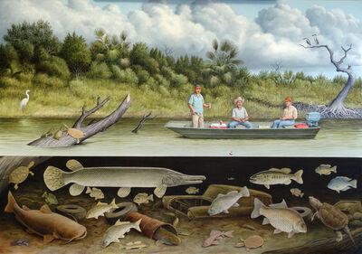 William Montgomery, 'Fish Story (Nueces River)', ca. 2019