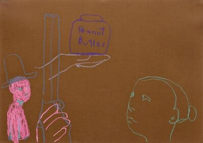 Ryan Mendoza, 'Untitled (Peantbutter)', 2003