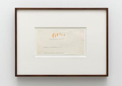 Sigmar Polke, 'Untitled', 1967