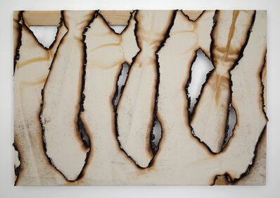 Ariel Schlesinger, 'Untitled (Burnt Canvas)', 2015