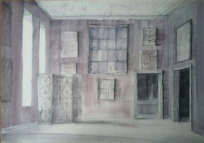 Pierre Bergian, 'Purple Room with Screen', 2018