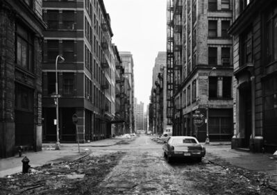 Thomas Struth, 'Crosby Street, Soho, New York 1978', 1978