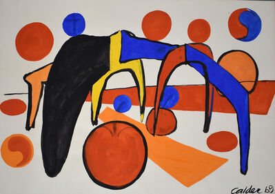 Alexander Calder, 'The Low speed | Le petite vitesse', 1969
