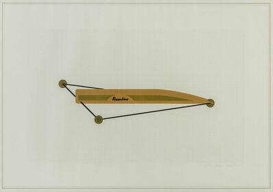 Gianni Piacentino, 'Vehicles sculpture', 1971