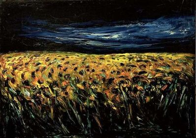 Claudio Palmieri, 'Sunflower Field', 1985